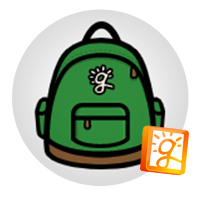 icon: GCS Backpack logo