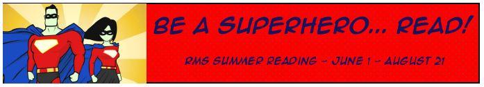 Be a Superhero...Read!