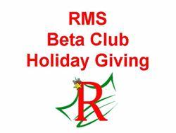 Beta Club Giving
