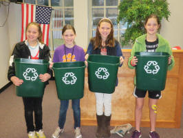 Students at Sara Collins are making recycling a priority!