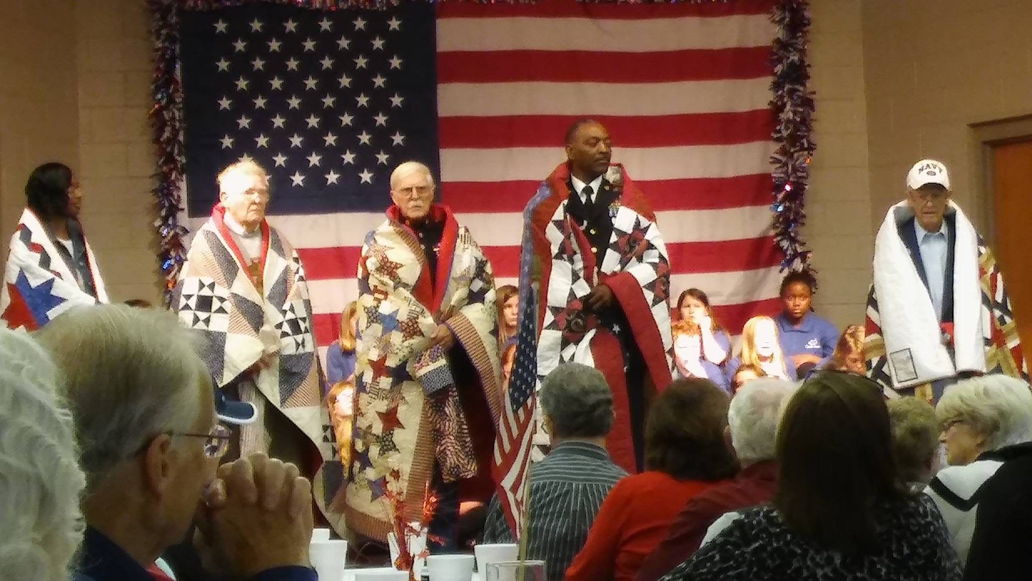 Veterans quilts
