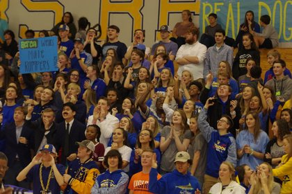 Student Section Photo