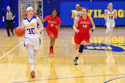 Girls' Basketball vs Greenville