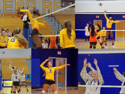 Week 4 with Converse College Volleyball: Warrior: text