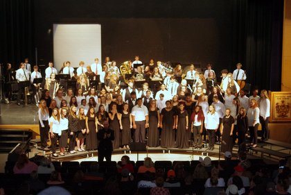 Band and Choir Photo