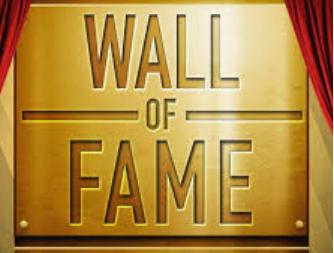 Wall of Fame Words Image