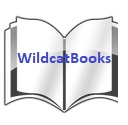 open book with Wildcat Books text